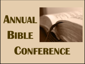 Logo for Annual Bible Conference page