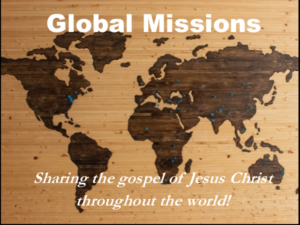 Worldwide map - Logo for Missions page