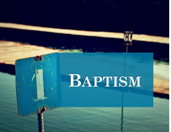 Acts - Time of Two Baptisms Image