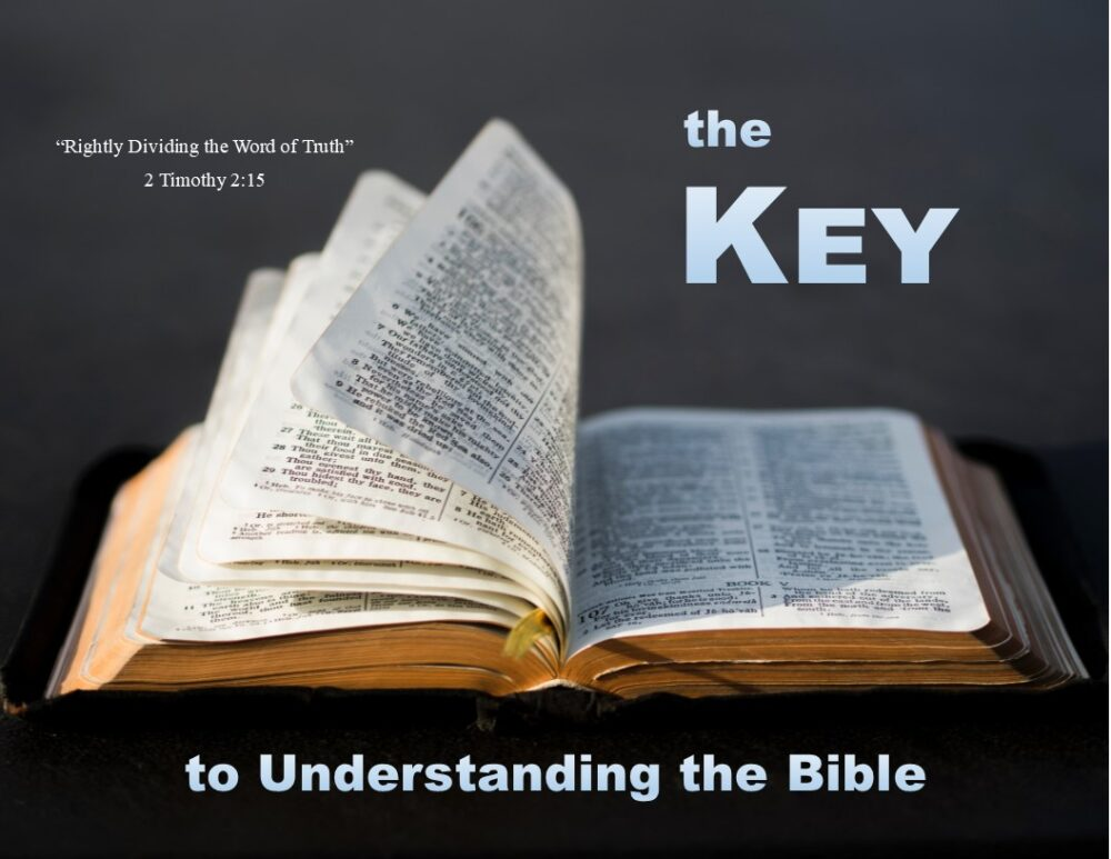 The Key to Understanding the Bible