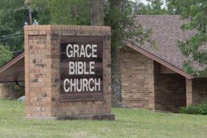 Grace Bible Church Outside Sign